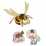 秋はスズメバチが危険!!スズメバチの習性を知って対策しよう!