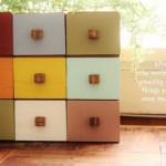 100均ドロアーボックスをリメイクして小物用の収納棚を作ろう